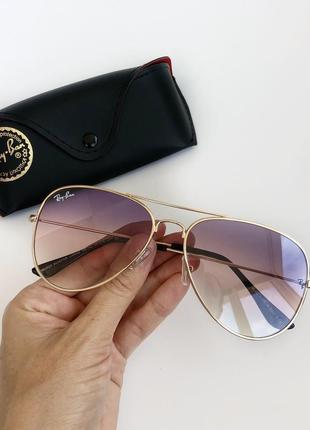 Женские солнцезащитные очки капли ray ban