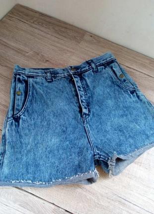 Ддинсові шорти джинсовые шорты высока посадка