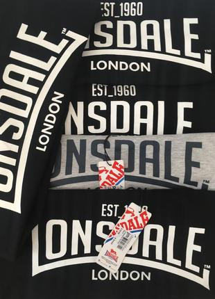 Футболки lonsdale