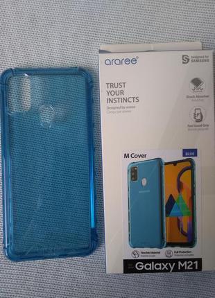 Samsung m21, силикон плотный