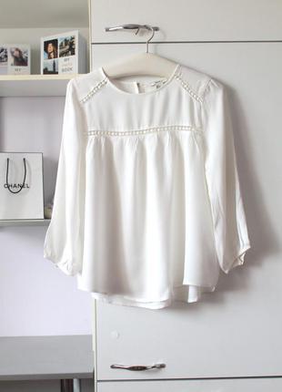 Молочная блузочка от forever 21