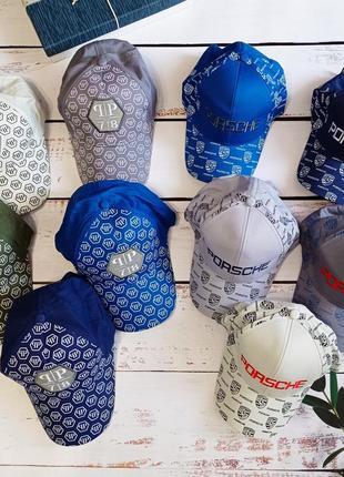 Летние хлопковые кепки бейсболки для мальчиков