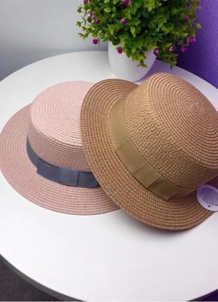 Шляпы канотье 2021👒