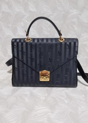 Кожаная сумка портфель maison mollerus, оригинал