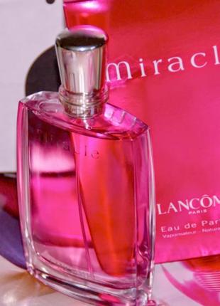 Lancome miracle edp 2000 г винтаж оригинал_eau de parfum 5 мл затест