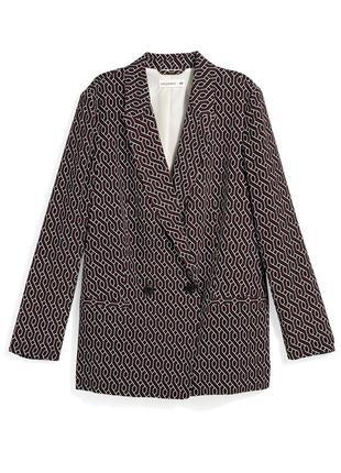 Gp & j baker × h&m летний двубортный пиджак из вискозы