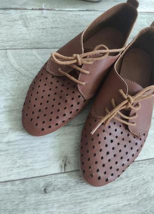 Летние, легкие балетки, туфли, тапки, шнуровка. размер 36