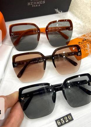 Стильные модные очки женские солнцезащитные