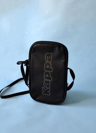 Мессенджер, сумочка kappa big logo