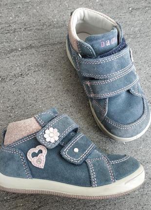 Фирменные полу ботиночки для девочки от bama 24 р