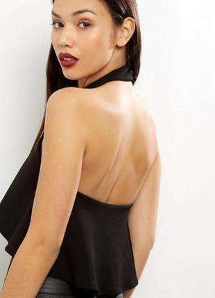 Новый женский боди блузка с воланом new look