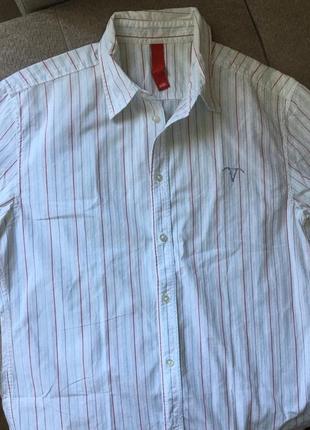 Рубашка мужская в полоску  edc