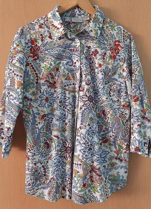 Блузка в цветочный принт laura kent