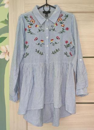 Шикарная фирменная рубашка, вышиванка