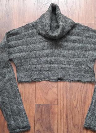 Укороченный свитер от h&m,р.m!