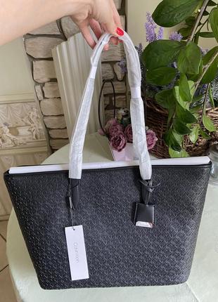 Женская сумка шопер calvin klein; оригинал; новая с бирками