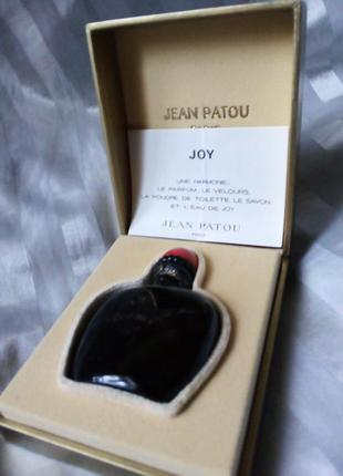 Joy jean patou духи винтаж, 7 мл, пломба, оригинал