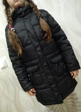 Демисезонная курточка парка на девочку