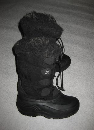 18,5 см стелька, канадские сноубутсы kamik, зимние сапоги