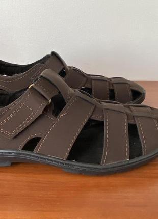 Туфли мужские летние коричневые - туфлі чоловічі літні коричневі
