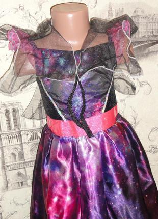 Карнавальное хэллоуин  платье 5-6лет