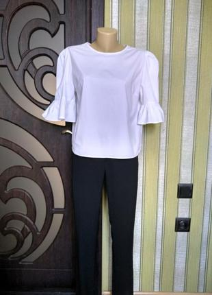 Globus essential фирменная белая блузка