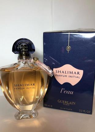 Guerlain shalimar parfum initial l'eau, edt, редкость, снятость!, оригинал 100%!!!