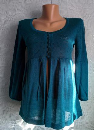 Кофточка блуза акрил шерсть можна на вагiтних