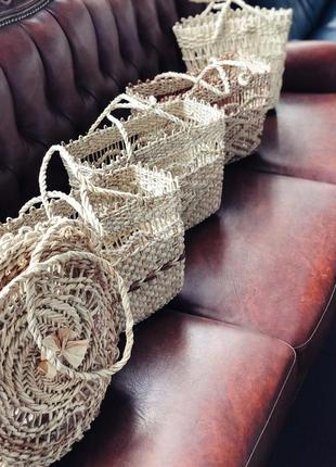 Летние сумки из кукурузы