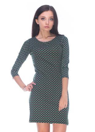 Зелена сукня twenty two на осінь-весну