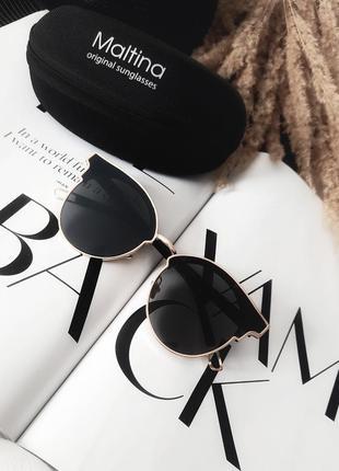 Женские солнцезащитные очки maltina италия оригинал!