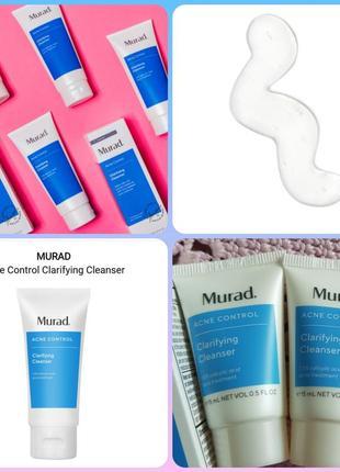 Murad acne control clarifying cleanser очищающий гель для проблемной кожи
