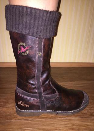 Сапоги ботинки (демисезонные)