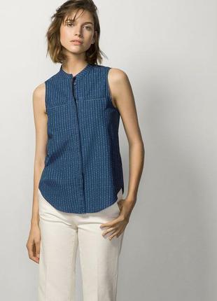 Легкая блузка massimo dutti