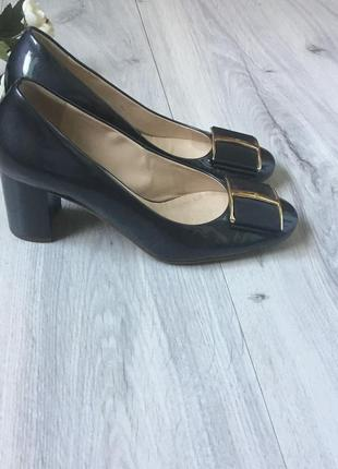 Фирменные кожаные туфли hogl, размер 37.5