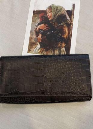 Клатч- кошелек cotton эко кожа