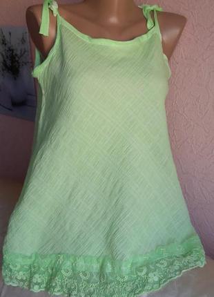 Красивая легкая майка butik yazma акция 1+1 =3 на блузы , рубашки , футболки