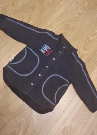 Кофточка (куртка) флисовая 2-3 года