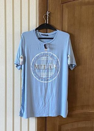 Крутая лёгенькая натуральная футболочка на лето 👍
