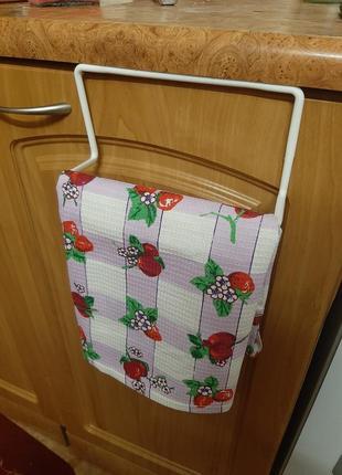 Навес на дверь для кухонных полотенец
