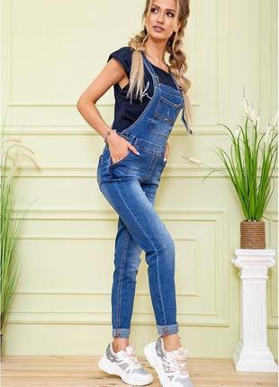 Комбинезон джинсовый mom