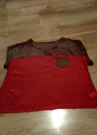 Лёгкая и приятная к телу блузка
