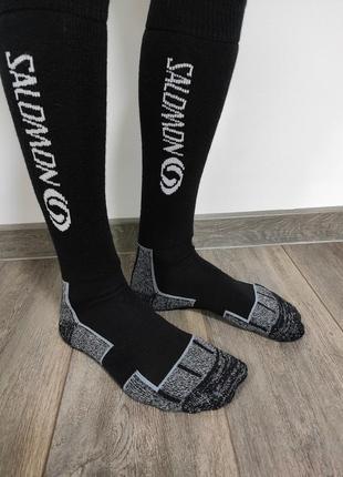 Носки  salomon высокие трекинговые   оригинальние носки , с термоэффектом размер: 40-43