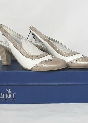 """Новые стильные босоножки бренда """"caprice"""" из натуральной кожи"""