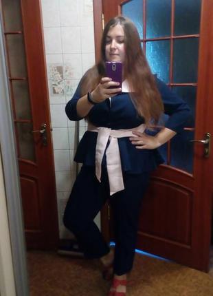 Дорогой пиджак с баской