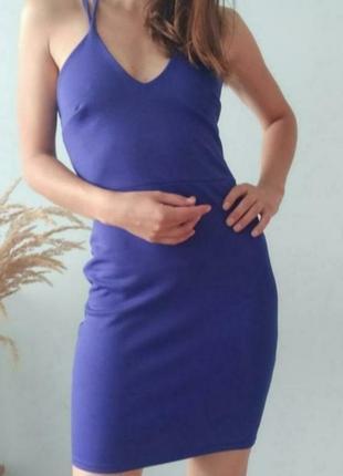 Сукня boohoo з відкритою спиною size xs/s