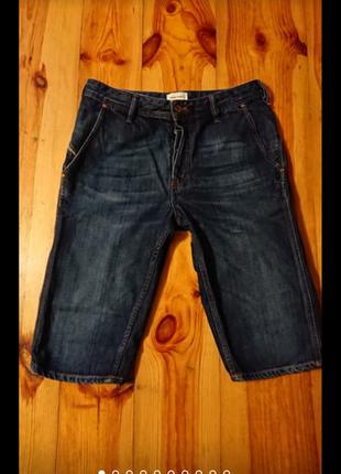 Брендові фірмові джинсові шорти бріджі diesel, оригінал.