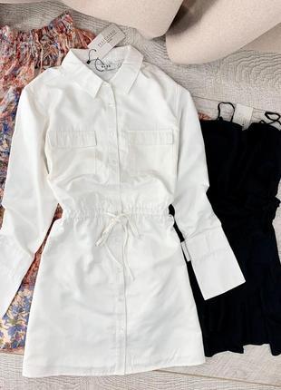 Сатинова сукня-сорочка