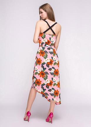 Распродажа сарафан в цветочный принт new look