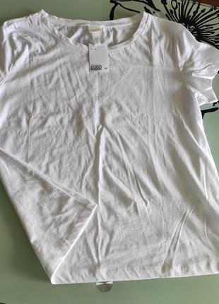 Базовая белая футболка р м